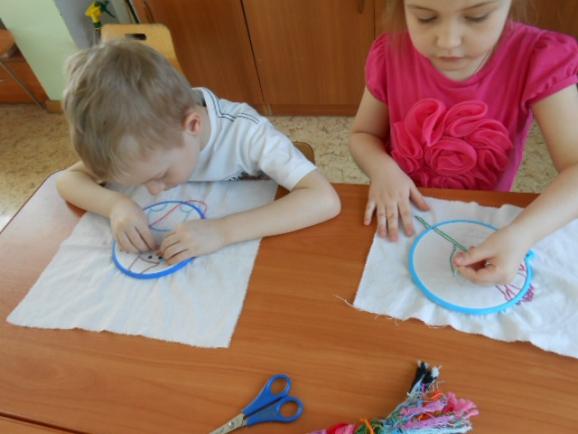 Занятия по шитью с детьми 7 лет